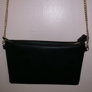 NWOT Black small clutch
